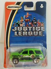 Matchbox Mattel Justice League series GREEN LANTERN. Cadillac Escalade. 2003 MOC