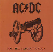 AC/DC CD For Those About To Rock We Salute You - Europe (M/VG+)