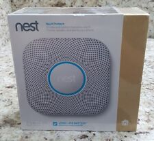 Nest Protect Smoke Carbon Monoxide Alarm (2nd Generation Battery S3000BWES) NEW