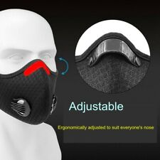 Activated Carbon Face Shield with filter for Cycling Outdoor Anti PM2.5 Exhaust