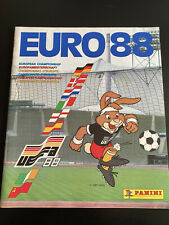 PANINI EURO88 COMPLETE ALBUM WITH THE RARE REAL SJAAK TROOST STICKER N220