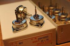 1pc 2SK182E TOKIN Hi-Power Hi-Voltage V-FET(SIT)   NOS Original, Made in Japan
