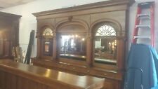 Antique back bar  and front bar from Silverton, CO