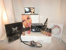 Luminess Air Airbrush PRO 3 Speed Black System&Pink No Drip Stylus 7pc Med Kit