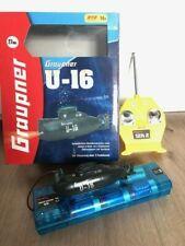 Graupner Mini U-Boot U-16 Elektromotor und Tauchtank ab ca. 14 J. Funkfernsteuer