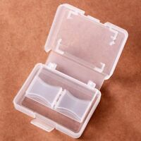 Portable CF/ Card Compact Flash Memory Card Protecter Box Storage Plastic Case