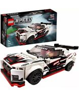 76896 LEGO Speed Champions NISSAN GT-R NISMO Racer Car New In Box Sent Free