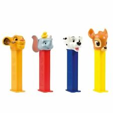 More details for disney pez dispensers and refills - new limited edition - pack of 4 designs