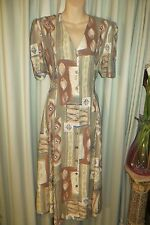 VINTAGE 80'S does 40'S ~ DRESS * Size 12 *  REDUCED !! 1/2 PRICE !!