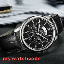 42mm parnis black dial Sapphire Glass 26 jewels miyota Automatic mens Watch P535