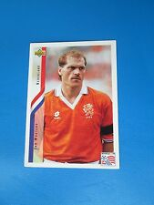 WOUTERS  NEDERLAND HOLLANDE PAYS-BAS Carte Card UPPER DECK USA 94 1994 panini