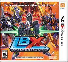 LBX: Little Battlers eXperience [Nintendo 3DS, Multiplayer Action Robot Combat]