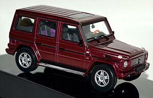 Mercedes Benz G 500 G-Wagon Lwb 1998-2007 Red Metallic 1:43 Autoart
