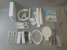 L👀K 🔥 Nintendo Wii White Console RVL-001 Game Cube Compatible Tested Works