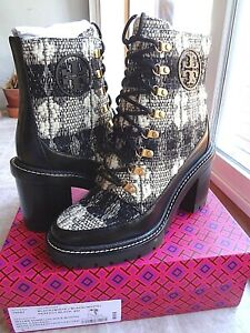 Tory Burch 95 mm Miller Lug Sole Bootie, 8 (New) Free Shipping