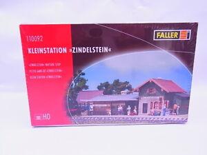 83601 Faller H0 110092 Kleinstation Zindelstein Kit Neuf Emballage D'Origine