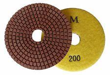 "4""  Metal-bond Wet Diamond Polishing Pad/Pads 200 Grit"