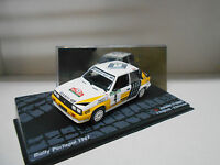 RENAULT 11 TURBO RALLY PORTUGAL 1987 RAGNOTTI EAGLEMOSS IXO 1/43