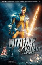 NINJAK VS VALIANT UNIVERSE #3 COVER C PHOTO VARIANT VALIANT X-O MANOWAR 031418