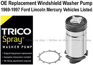 Windshield / Wiper Washer Fluid Pump (d)  - Trico Spray 11-506