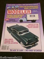 CAR MODELER - 1955 CHEVY BEL AIR CUSTOM - NOV 1994