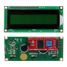 IIC I2C TWI Serial 1602 16×2 Character LCD display Module for Arduino Yellow