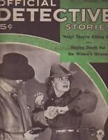1941 Official Detective Stories Nov- Eldorado,Cleburne