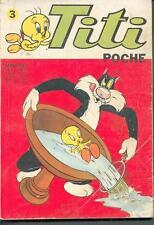 BD format poche Titi Poche Numero 3 1974 bon etat