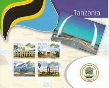 Tanzania 2011 MNH 50 Years Independence 4v M/S State House Dodoma Stamps