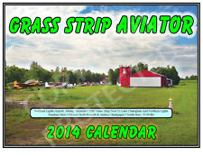 Grass Strip Aviator 2014 Wall Calendar Features Airfields Around New England