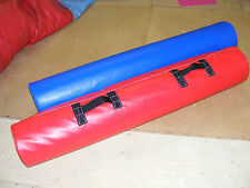2 NEW x GLADIATOR Pugel Sticks 5ft x 10 inch Red/ Blue Quality Foam