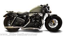Sacoche de selle déballer cendres droit Harley Davidson, sportster, Iron, roadster, Bobber HD
