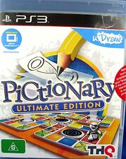 NEW & Sealed PlayStation 3 PICTIONARY ULTIMATE EDITION Game - In Australia
