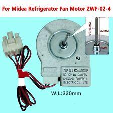 Original 12V 4W Fan Freezing Motor ZWF-02-4 For Midea Refrigerator BCD-330WTV