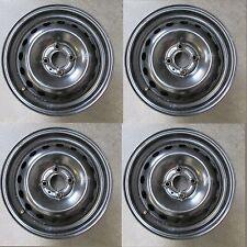 "Set 4 cerchi in ferro Renault Modus 04-06 15"" 6J ET50 fori 4x100 (6753 51-2-A-3)"