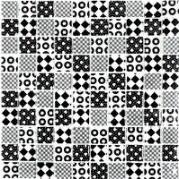 Glasmosaik Optik mix schwarz Fliesenspiegel Küche Küche Art: 88-8OP5 | 10 Matten