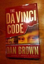 The Da Vinci Code - Dan Brown (2003, 1st Edition, 1st Printing HC w/ DJ)