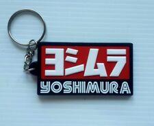 New Yoshimura Keychain Keyring Rubber Motorcycles Motocross Bike Racing
