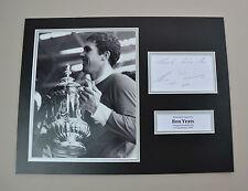 Ron Yeats Signed 16x12 Photo Autograph Display Liverpool Memorabilia + COA