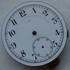 Volta Repeater Pocket Watch movement some parts missing 45 mm. in diameter