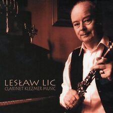 CD LESLAW LIC Clarinet Klezmer Music  - Urbanska