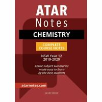 Notes: Year 12 Chemistry Complete Course Notes