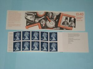 1989 FM6B  Folded £1.40 Booklet Fox Talbot's Report on the Photographic process