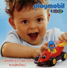 Prospekt Playmobil 1-2-3 2/05 2005 Broschüre 16 S. Spielzeug Spielwaren Katalog