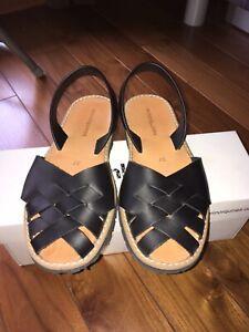 Sandales plates Minorquines 37