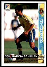 Mundicromo Las fichas de la Liga 98 99 Garcia Sanjuan Villareal No. 356