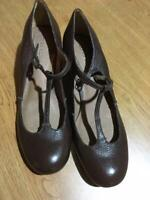 Corso Como Brown Leather Shoes Womens Size 8.5