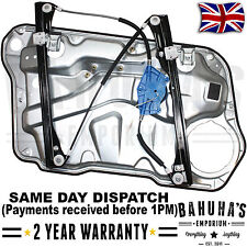 FITS VW GOLF MK4 BORA 1998-2006 FRONT LEFT UK PASSENGER SIDE WINDOW REGULATOR