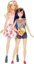 NEW MATTEL BARBIE AND SKIPPER SISTERS FAMILY DAY CINEMA 2 PACK DOLLS GIFT SET
