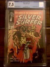 Silver Surfer #3 CGC 7.5 1st Mephisto Fantastic Four Doctor Strange 2